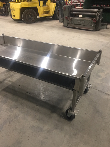 Stainless Rolling Table