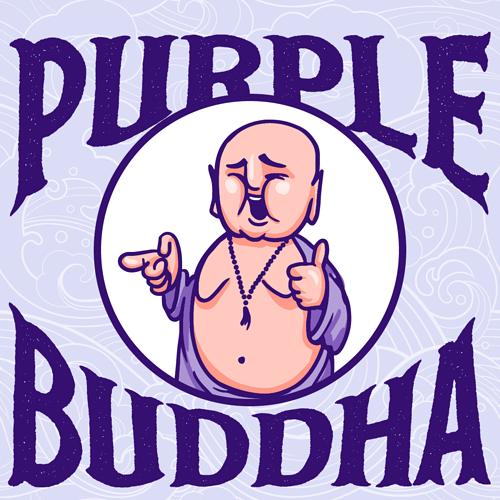 Purple-Buddha-icon